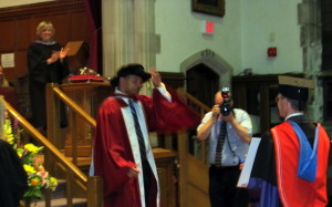 Josh Samuel's PhD Graduation at MDC